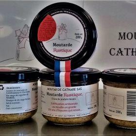 La moutarde Rustique de Castelnaudary
